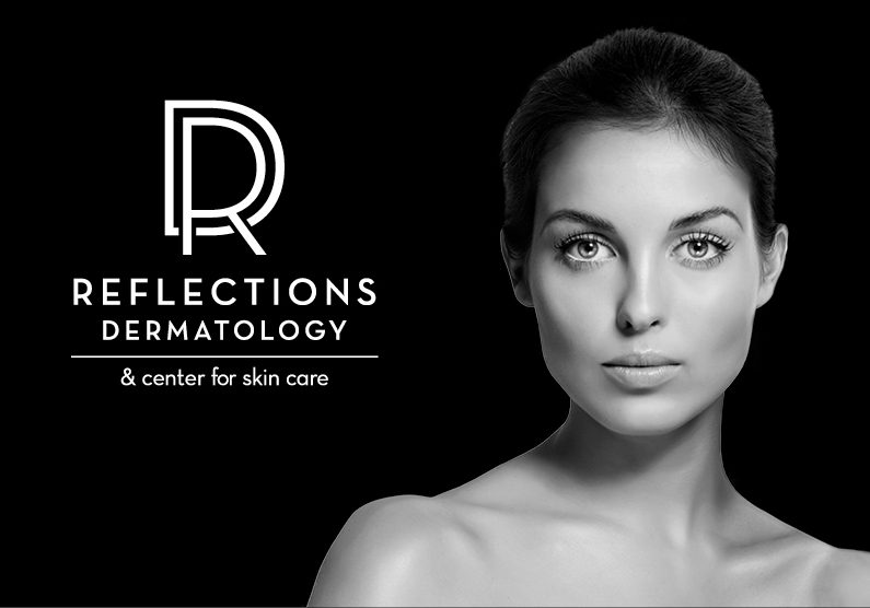 Reflections Dermatology Branding | Retse Designs